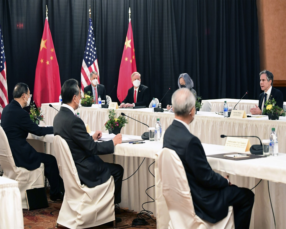 US, China spar in first face-to-face meeting under Biden