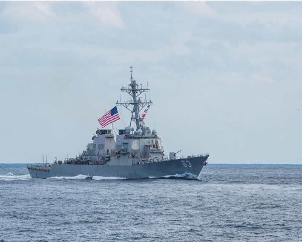 US Navy fires warning shots in new tense encounter with Iran