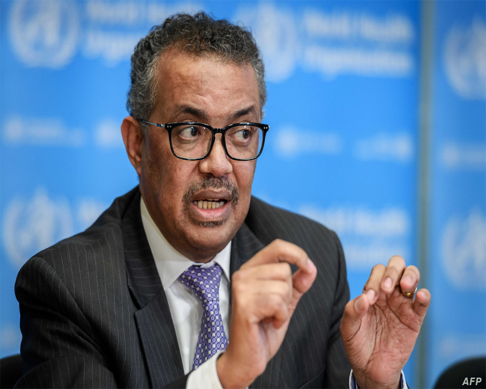 WHO chief calls growth in virus cases ''worrying''