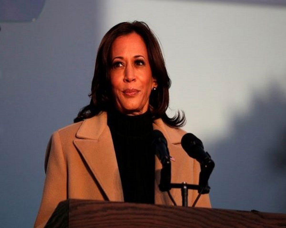 With blazers and sneakers, Kamala Harris brings in new style of power dressing