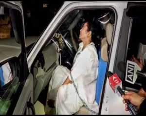 'Attack' on Mamata a stunt to win voters' sympathy: Bengal BJP