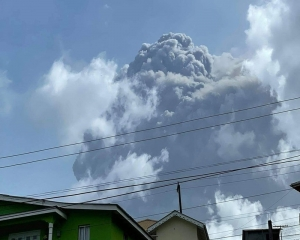 'Huge' explosion rocks St. Vincent as volcano keeps erupting