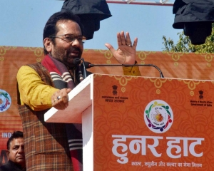 'Hunar Haat' playing key role in making 'Vocal for Local' campaign a mass movement: Naqvi