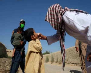 1st polio vaccination drive in Afghanistan since Taliban takeover