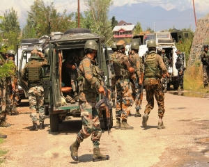 2 militants killed in overnight encounter with security forces in J-K's Shopian