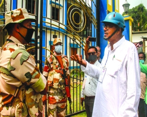 71 companies of Central paramilitary forces to be deployed in West Bengal