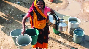 A bleak future without sustainable water resources