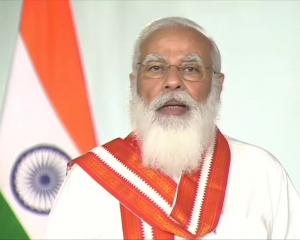 At core of 'Atmanirbhar Bharat' is to create wealth, values for humanity: PM