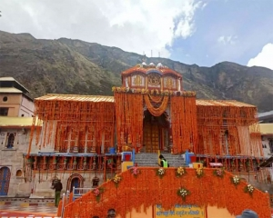 Badrinath opens after winter closure