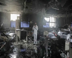 Before they could fight corona, hospital blaze consumed them