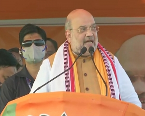 BJP will enact laws to check 'love and land jihad', Cong- AIUDF encouraging infiltration: Shah