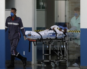 Brazil sees record high Covid-19 deaths two days in a row