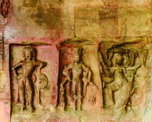 Carvings on a hill — The Udaygiri Caves
