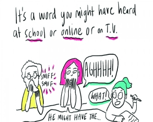 Comics play the role of another COVID-19 helpline