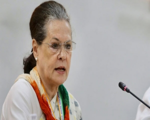 Cong always striving towards achieving Ambedkar's path of building  strong India without discrimination: Sonia