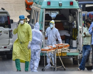 COVID-19: 18222 new cases take India's virus tally to 1,04,31,639