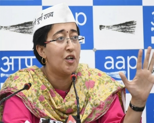 Covishield stock for 45+ age group left for 12 days: Atishi