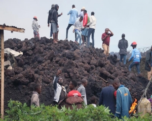 Death toll from Congo volcano eruption rises to at least 32