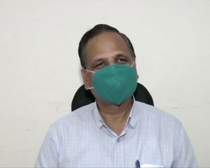 Delhi has only one day's Covaxin stock left: Satyendar Jain
