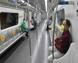 Delhi Metro to ply half of its trains on Monday at 5 to 15 minutes frequency