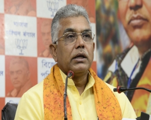 EC notice to Bengal BJP chief Dilip Ghosh for 'there will be Sitalkuchi in several places' remarks