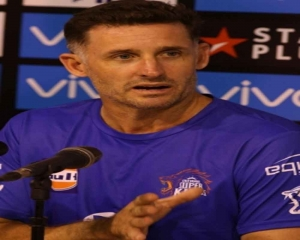 Hussey tests positive for Covid-19 again