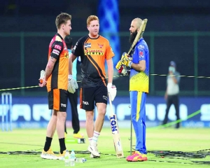 IPL's foreign recruits head home