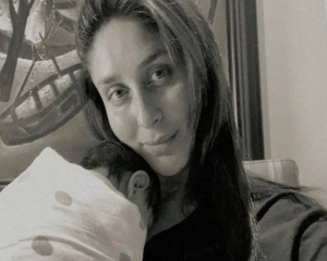 Kareena Kapoor Khan shares first picture with new born