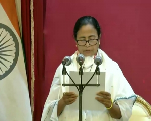 Mamata sworn-in as Bengal CM for 3rd time, takes oath in Bengali