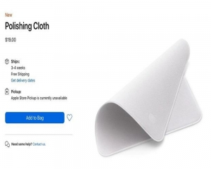 Musk trolls Cook over Apple's $19 cleaning cloth