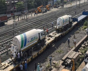 Nearly 11,800 tonnes of liquid medical oxygen delivered across country on Oxygen Express trains