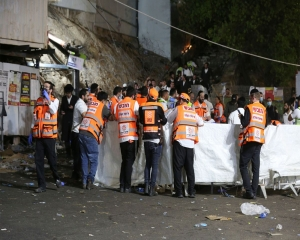 Nearly 40 killed in stampede at Israeli religious festival