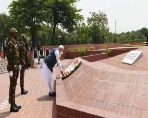 PM Modi pays homage to martyrs of Bangladesh War of Independence