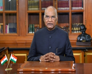 President Kovind returns to Rashtrapati Bhavan after bypass surgery at AIIMS