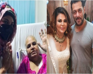 Rakhi Sawant, mom thanks Salman Khan for all his help