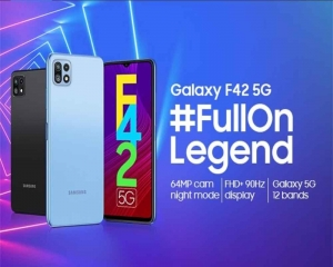 Samsung to launch Galaxy F42 5G on Sep 29