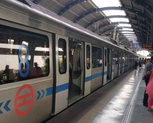Services delayed on Metro's Blue Line section due to track maintenance work: DMRC