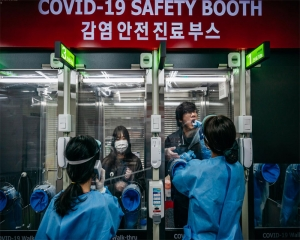 South Korea reports 437 new COVID cases