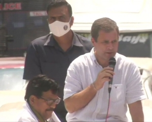 TN should show the way to India in keeping out BJP, oust CM: Rahul Gandhi