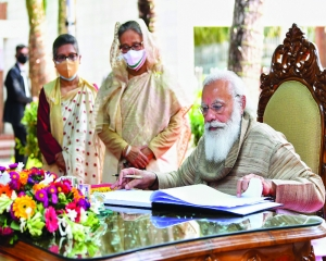 Transformational moment in India-Bangladesh ties