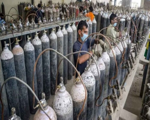 Treat available oxygen as critical commodity: Centre to states