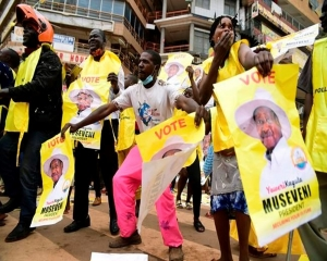 Uganda says president wins 6th term as vote-rigging alleged