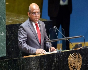 UN, global community need to speak in one voice in confronting terrorism: UNGA President-elect Shahid