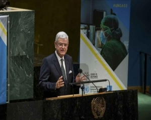 UNGA chief 'saddened' by India's reactions to his Kashmir statements