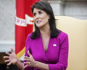 US' former diplomat Haley and Congresman Waltz call for an alliance with India