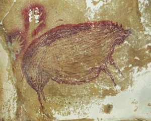 World's oldest known cave art is 45,500 yrs old