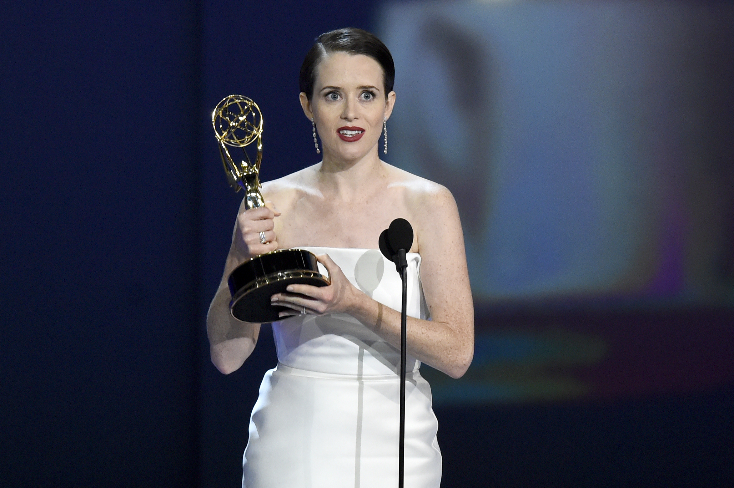 Outstanding Lead Actress in a Drama Series 2018 - Claire Foy as Queen Elizabeth II in The Crown