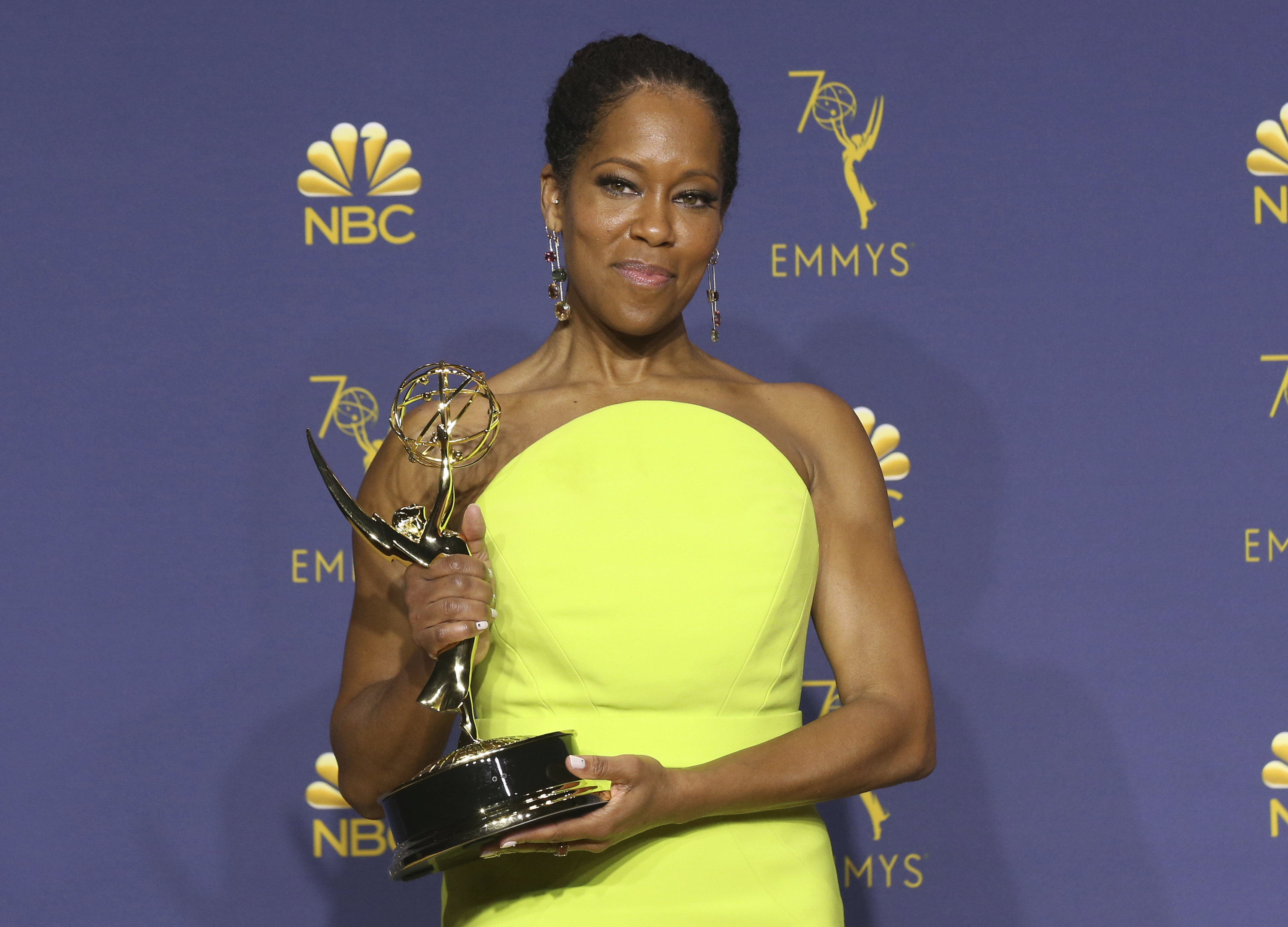 Outstanding Lead Actress in a Limited Series or Movie 2018 - Regina King as Latrice Butler in Seven Seconds