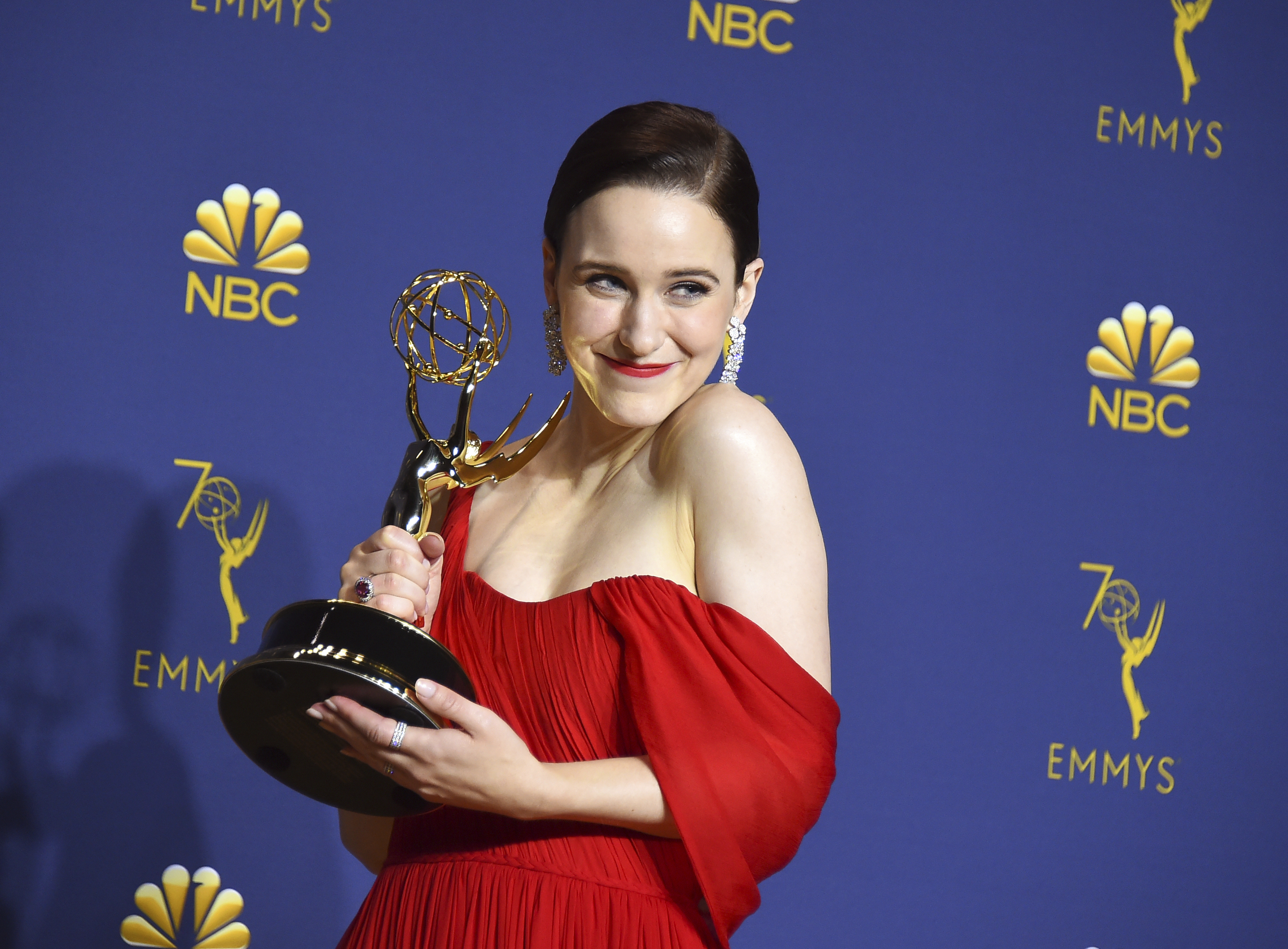Outstanding Lead Actress in a Comedy Series 2018  - Rachel Brosnahan as Miriam Midge Maisel in The Marvelous Mrs. Maisel