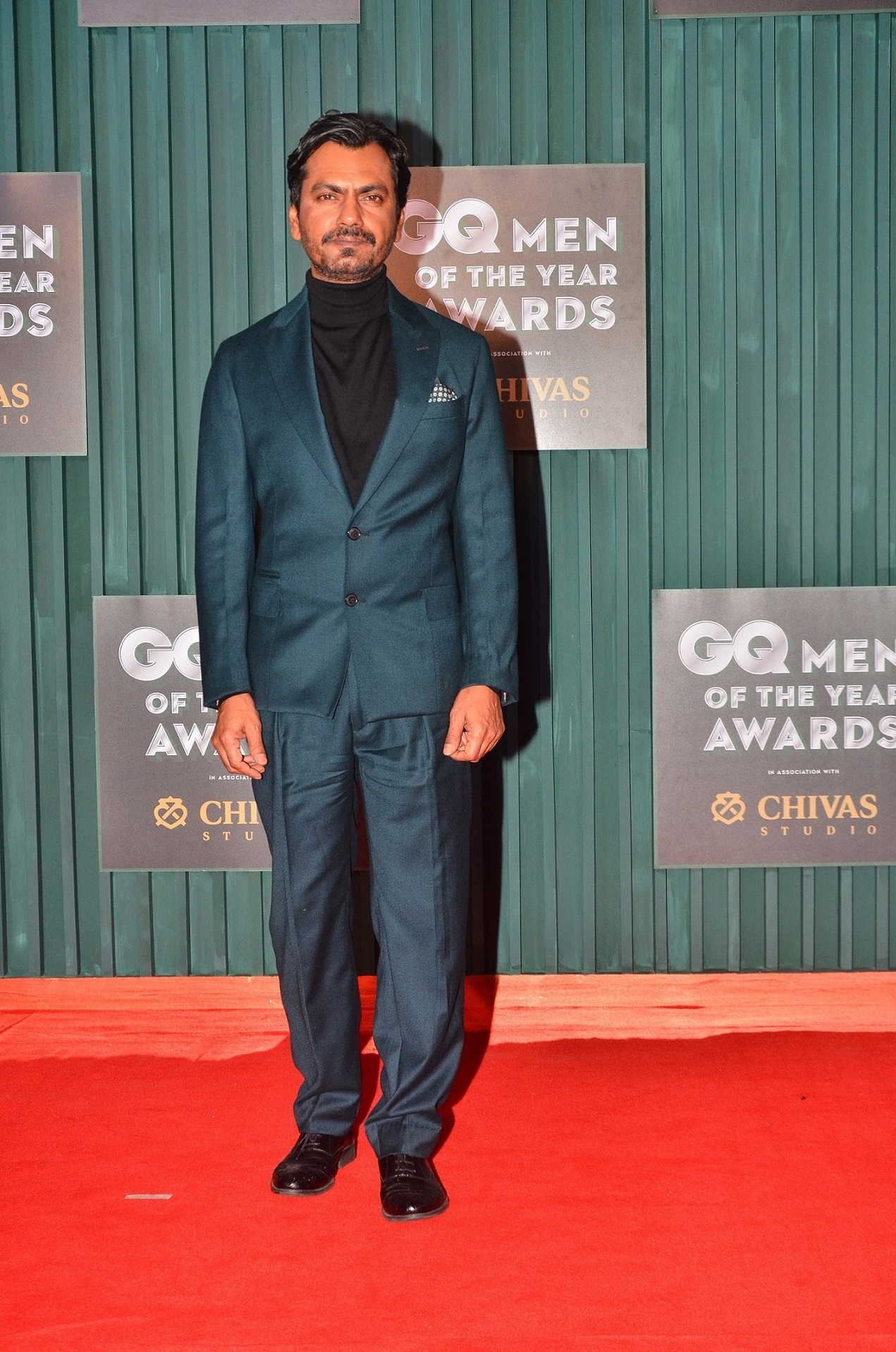Winner - Actor of the Year, Nawazuddin Siddiqui at the GQ Men of The Year Awards 2018
